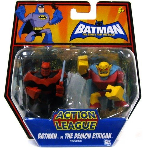 Batman The Brave & the Bold Action League Action Figures - Batman vs the Demon Etrigan