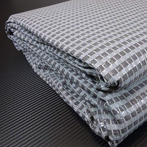 Schlauchland Zeltteppich ´´´odooro DURATEX 2,5m x 6m anthrazit-grau *** 500 g/m² Outdoor Teppich Vorzelt Teppich Garten Spieldecke