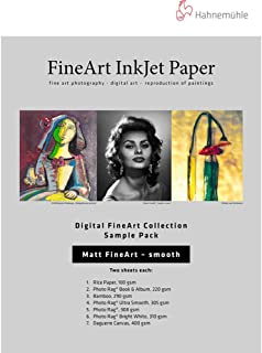 hahnemuhle smooth fine art paper