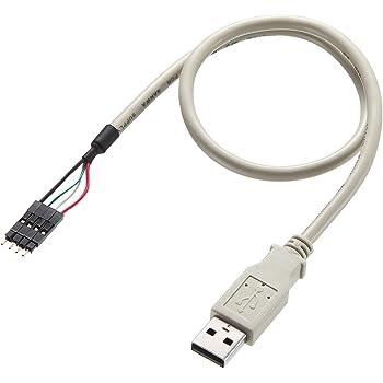 SANWA SUPPLY USBケーブル 0.4m TK-USB1