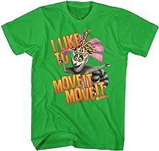American Classics Madagascar Children's Movie Moveitmoveit Kelly Adult T-Shirt Tee