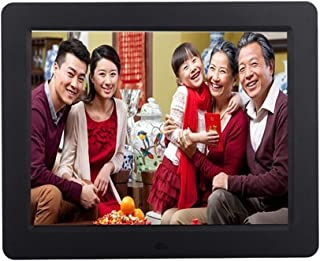 HUALEIYUAN AU 10.4 Inches LCD Digital Photo Frame HD 1024x768 Multi-Functional Built-in MP3/MP4 Player Remote Control Whit...