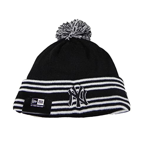 wholesale dealer e5b51 2fb3a New Era Beanie Mlb Sport Knit Headwear New York Yankees Men Size Hat