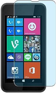 Vaxson 4-pack anti-blått ljus skärmskydd, kompatibelt med NOKIA Lumia 530, blått ljusblockerande film TPU-skydd [INTE härd...