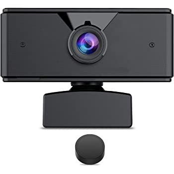 1080P Webcam 【2020 New Version】 Autofocus Full HD Bussiness Web Camera with Dual Digital Microphone USB Computer Camera for PC, Laptop, Desktop, Mac Video Calling, Conferencing, Skype, YouTube