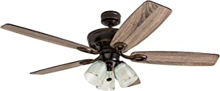 Prominence Home 51017 Marston Rustic Farmhouse Ceiling Fan, 52