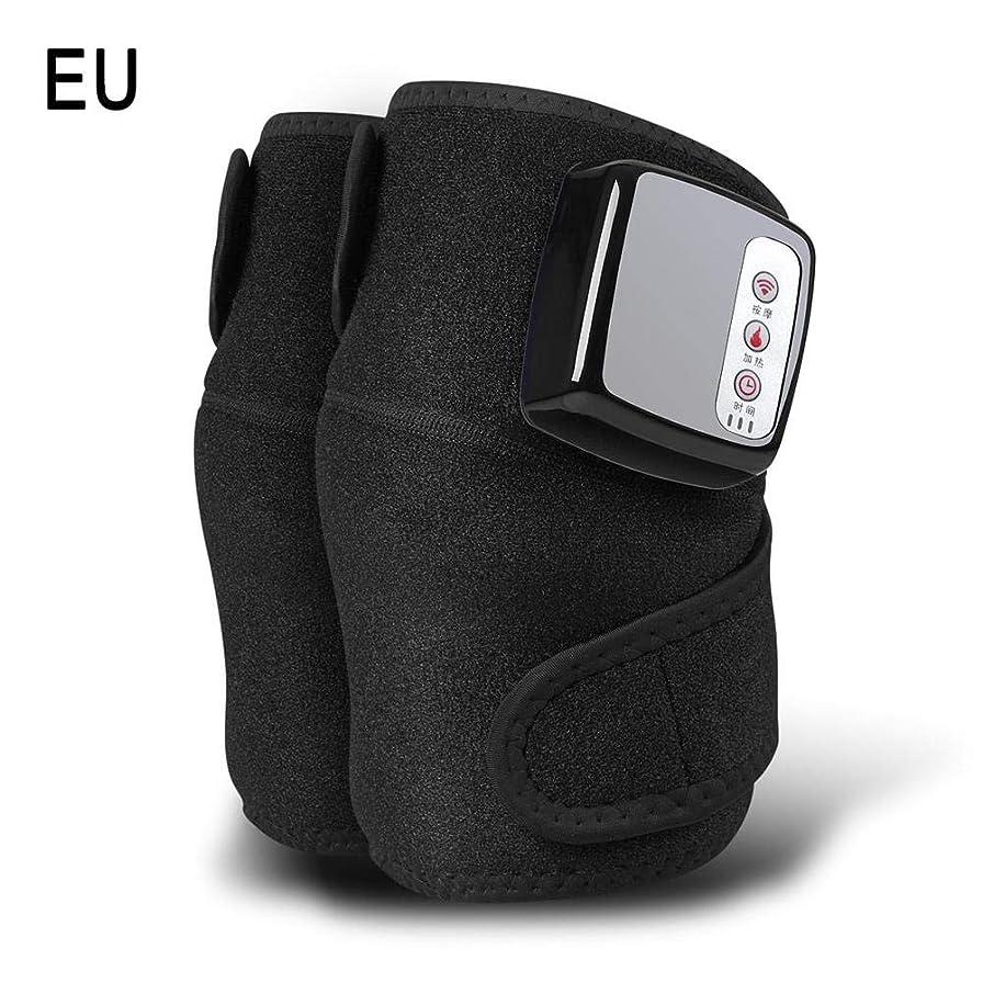 寛大さ内部パターン膝マッサージャー、ホットコンプレス、振動、多機能充電式発熱膝マッサージャー、暖かい膝関節、古い冷たい脚