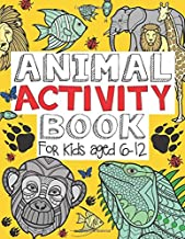 Animal Activity Book: For Kids Aged 6-12 (US Edition)