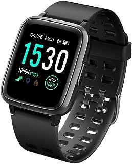 comprar comparacion LATEC Pulsera Actividad Reloj Inteligente Impermeable IP68 Smartwatch Pantalla Táctil Completa con Pulsómetro Cronómetro P...