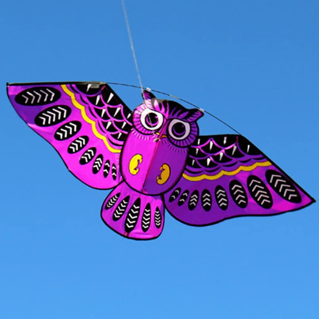 Surprise price Haayward Cartoon Owl Be super welcome Flying Kite Outdoor for Sport Toy K Gift