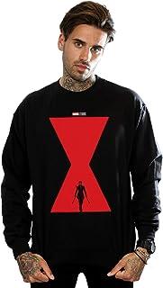 Marvel Men's Black Widow Movie Poster Sweatshirt