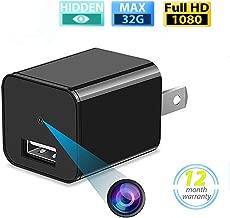 Spy Hidden Camera-USB Wall Charger Camera HD 1080P Wireless Hidden Nanny Surveillance Camera