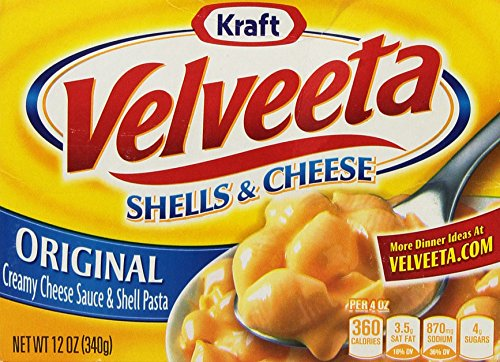 New Kraft Velveeta Shell and Cheese Original Pasta 340g (pack of 1)