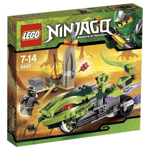 Lego 9447 - Ninjago: Lashas Schlangenbike