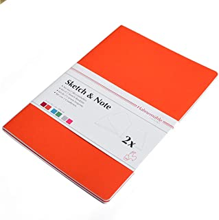 Hahnemuhle Red Bundle Sketch & Note 125 GSM, A4 Size, 20 Sheets, 2 Booklets