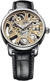 Maurice Lacroix Masterpiece Skeleton Watch, ML134, Crocodile, MP7228-SS001-001-1
