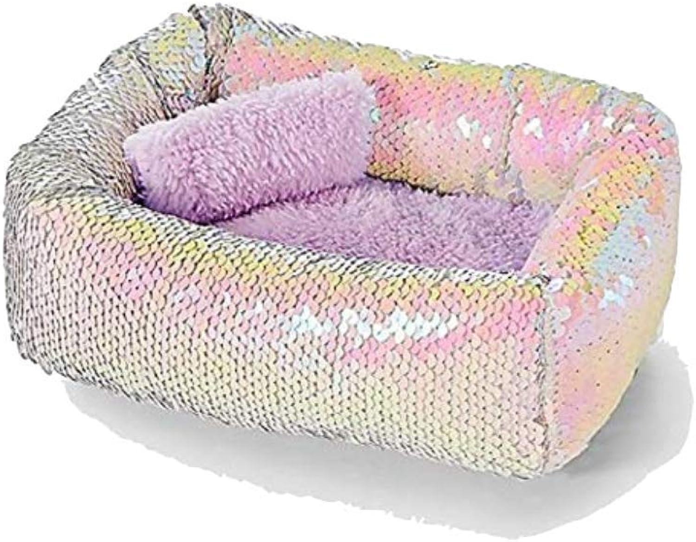 Justice Pet Shop Flip Sequin Bed