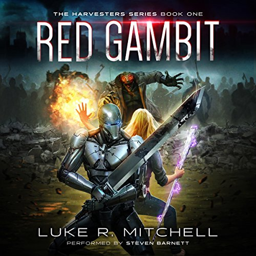 Red Gambit audiobook cover art