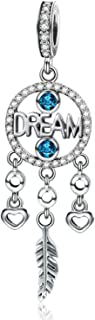 Mermaid Charms 925 Sterling Silver Charm Bead for Snake Bracelets Necklace Women Girls Gift