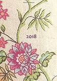 dicker Tagebuch Kalender 2018 - Blumen: DIN A4 - 1 Tag pro Seite