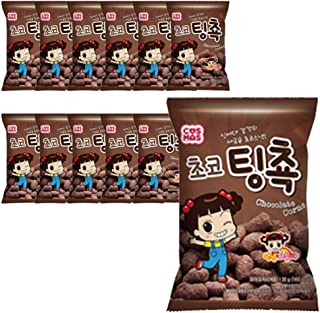 Cosmos Choco Ting Choc Chocolate Corn 30g(12 EA)
