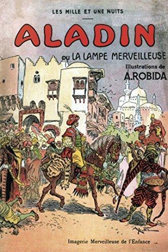 1art1 Albert Robida - Aladino Y La Lampara Maravillosa, 1001 Noches Fotomural Autoadhesivo (180 x 120cm)