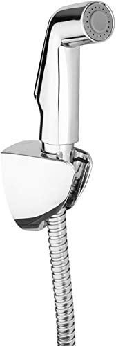KOHLER Deco Chrome Polished Contemporary 12927IN CP Health Faucet with Metal Hose and Holder Silver