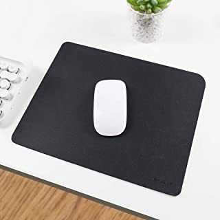 EXCOVIP Mouse Pad, Non-Slip PU Leather Desk Pad Waterproof Desk Pad Protector, Desk Writing Mat for Office Home, Small Siz...