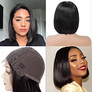 Best short bob wigs with middle part Reviews