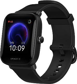 """Amazfit Bip U Smartwatch 1,43"""" Fitness Tracker z 60+ trybami sportowymi, pomiar zawartości tlenu we krwi i częstości akcji..."""