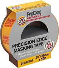 Randbescherming, ProDec ATMT002, 36 mm, professioneel plakband in geel
