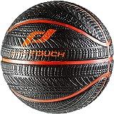 Pro Touch Basketball Asphalt Badminton Ball, Schwarz/Orange, 7