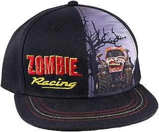 Youth Zombie Racing Cap Black