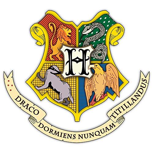 Customise4U Hogwarts Crest Harry Potter Kinder Wandaufkleber Wandüber Wall Art Wand Tattoo (Hogwarts Crest 70cm)