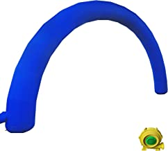 Happybuy Inflatable Arch Blue 26ftx10ft with 110W Blower for Advertising Party Celebration Garden