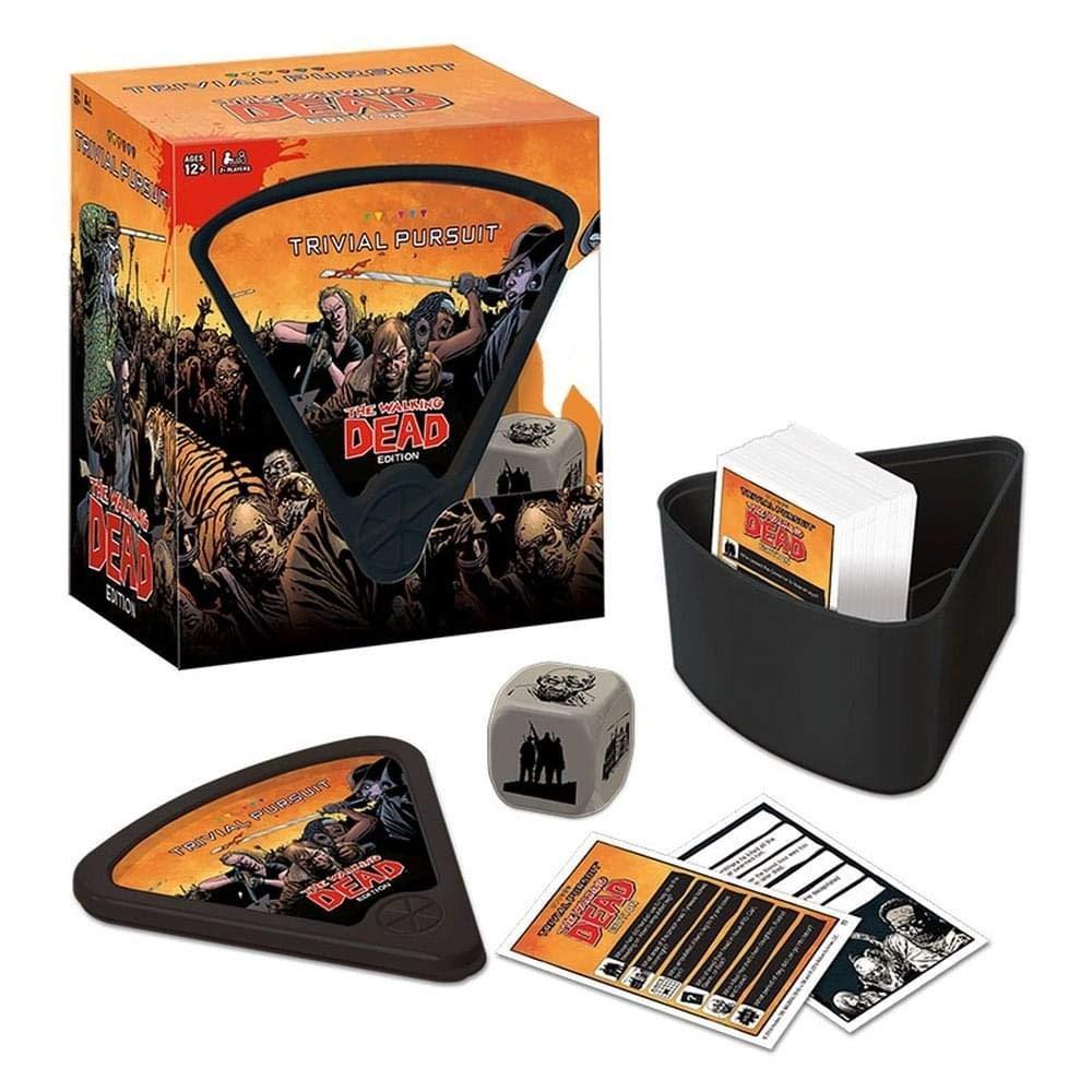 USAopoly The Walking Dead Trivial Pursuit Board Game: Amazon.es: Juguetes y juegos