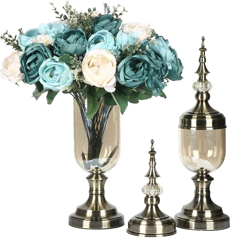 Cunemmo Vase européen décoration Salon ArrangeHommest Floral Table Meuble TV décoration ameubleHommest Maison