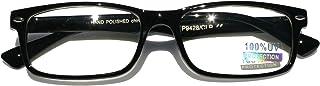 Casual Fashion Horned Rim Rectangular Frame Clear Lens...