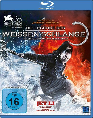Die Legende der Weißen Schlange - The Sorcerer and the White Snake (Blu-ray)