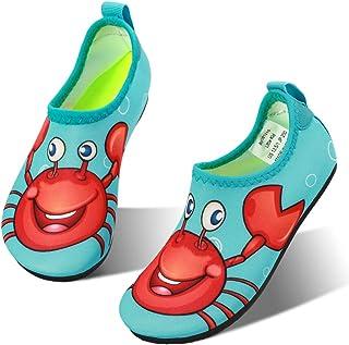 hiitave Kids Water Shoes Non-Slip Quick Dry Swim Barefoot...