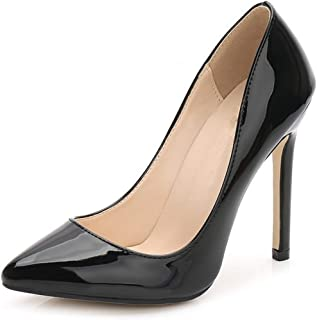 2f467b3382 Spring/Autumn Stiletto 11cm Thin Heels Sexy Nightclub Pumps Women Pointed  Toe Party Shoes