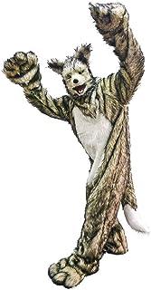 口が連動しリアルに動く!あなたも 超ヒューマンな動物キャラに大変身!セットでお得!かんぺきなりきりアニマルスーツ 【アニマルマスク+スーツセット/wolf/ウルフ】