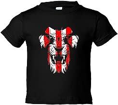 Camiseta niño ilustración dibujo Athletic león cara colores Bilbao - Negro, 7-8 años