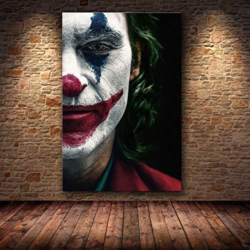 FPUYB Joaquin Phoenix Joker MovieAdulto per Bambini Mini Puzzle 1000 Pezzi Puzzle per Bambini Tromba Giocattolo educativo Compleanno