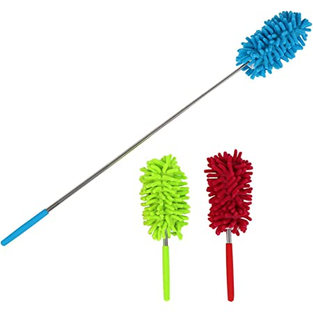 Cleaning Home Air-condition Duster Brush Cleaning Brushes Telescopic Microfiber