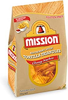 Mission Foods Mission Foods Cheesy Nacho Chips 230 g