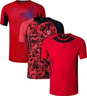 Sportides Boy's Quick Dry Active Sport Short Sleeve Breathable T-Shirt Tee Top LBS701_Pack