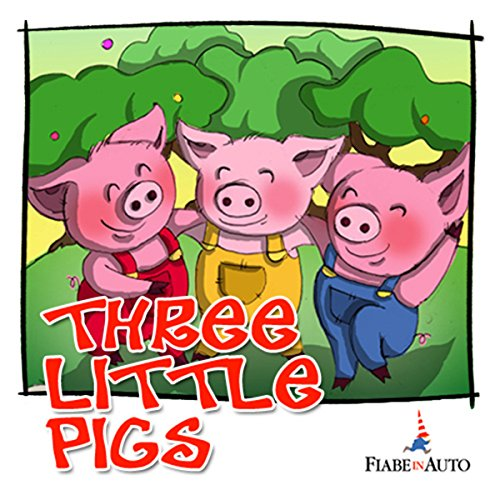 Three little pigs audiobook cover art