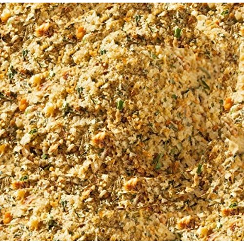 Low Carb Seasoned Bread Crumbs - Fresh Baked - LC Foods - All Natural - No Sugar - High Protein - Diabetic Friendly - Low Carb Bread