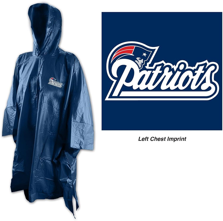 NFL New England Patriots Rain Poncho